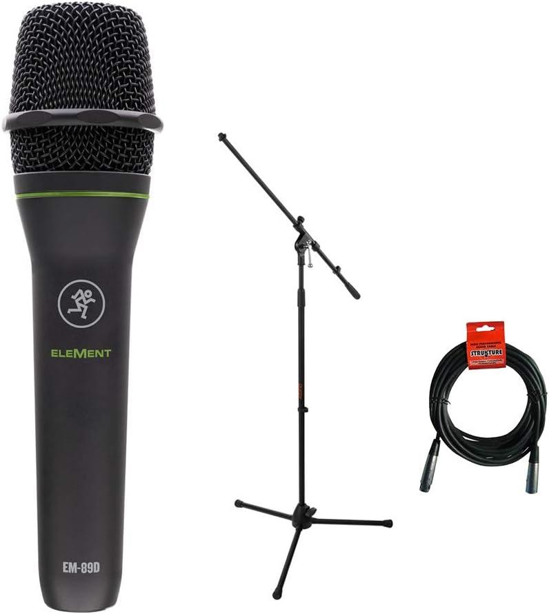 Mackie Element Series Dynamic Vocal Microphone EM-89D
