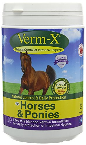 Verm X Horse Worming Powder (Pack Size: 320g Sachet)