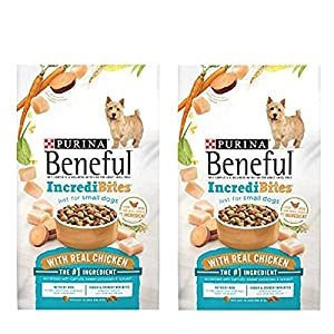 Purina Beneful IncrediBites for Small Dogs Adult Dry Dog Food (Chicken, 2 Packs (Each 15.5 lbs.))