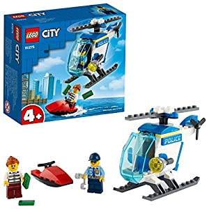 LEGO Police Helicopter Building Blocks...