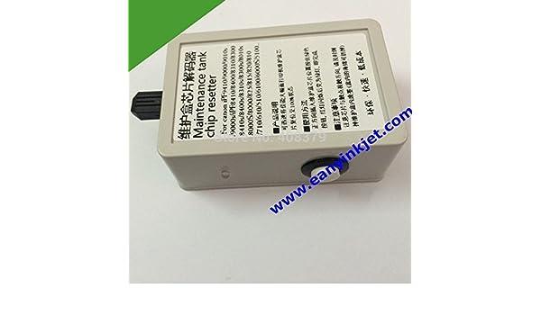 ARBUYSHOP IPF8400 resetter de IPF8400 mantenimiento plotter chip ...