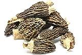 Dried Morel Mushrooms by Slofoodgroup (Morchella Conica) Gourmet Morel Mushrooms Various Sizes of Morels Available(.25 lb/ 4 oz Morel Mushrooms)