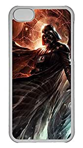 Creative GOOD 5C Case, iPhone 5C Case, Personalized Hard PC Clear Shoockproof Protective Case Cover for New Apple iPhone 5C - Star Wars Vader Dark