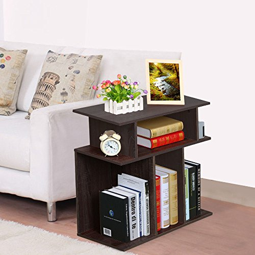 Bath 24' Glass Shelf (Small Accent Tables End Table With Storage Espresso Side Night Stand Bed)