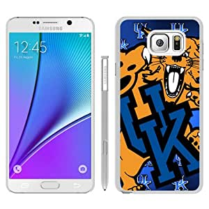 High Quality Samsung Galaxy Note 5 Edge Skin Case ,Southeastern Conference SEC Football Kentucky Wildcats 1 White Samsung Galaxy Note 5 Edge Screen Cover Case Popular And Unique Custom Designed Phone Case