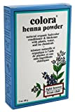 Colora Henna Powder Hair Color Light Brown 2oz (3 Pack)