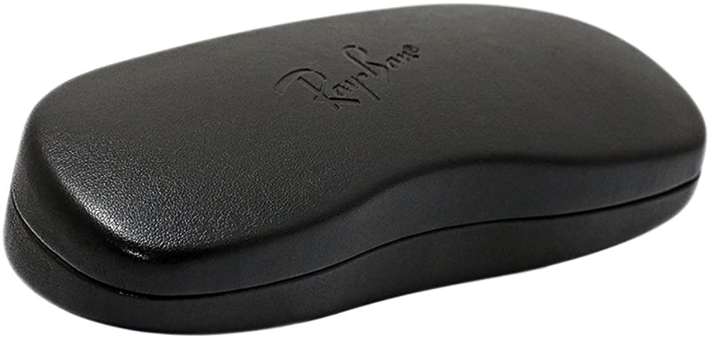 Ray Ban Black Hard Sunglasses Case New