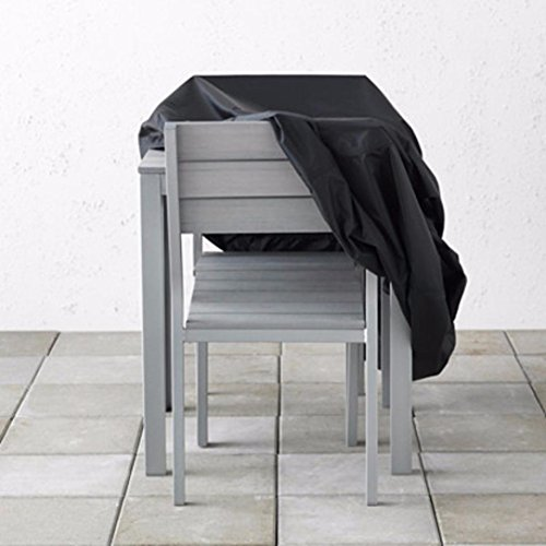 Inverlee Househould Necessitity Outdoor Patio Garden Furniture Waterproof Cover Protect from Rain Snow Cover for Table Chair (A) (Patio Outdoor Furniture Diy)