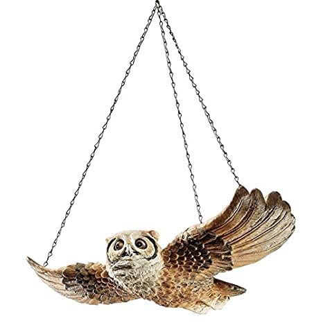 Toys & Hobbies Realistic Miniature Flying Owl Statue Animal Model Sculpture Figurine For Backyard Fairy Garden Room Office Decorative Accessory