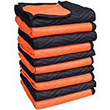 Forearm Forklift 72'' x 80'' Full Size-2 Color Moving Blanket, 10-Pack, Model FFMB10