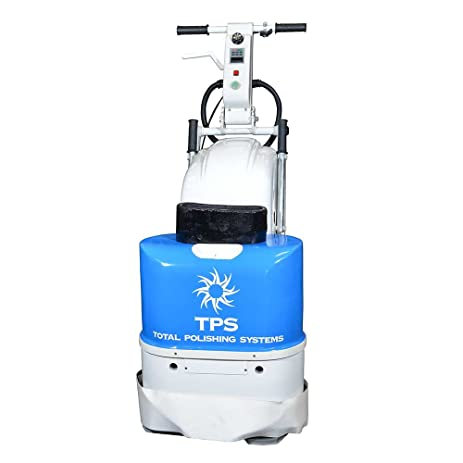 tpsx1 total polishing systems x1 20 inch variable speed 5 horse power diamond concrete floor