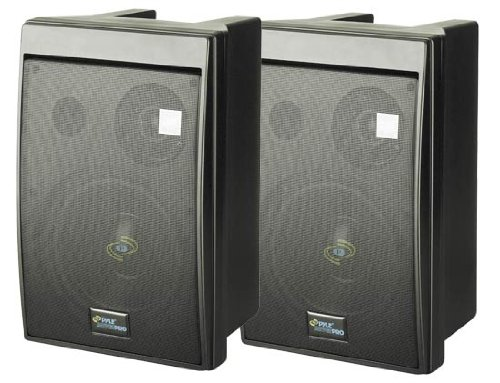 Stereo Micro Monitor Speakers - Pyle Home PDMN68 8-Inch 2-Way Monitor (Pair)