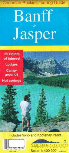 Banff & Jasper Map & Guide