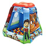 Paw Patrol: All Paws on Deck Ball Pit, 1 Inflatable & 20 Sof-Flex Balls, Blue/Red/Green, 37'W x 37'D x 34'H