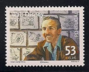 Walt Disney Collectible Postage Stamp Portugal 2445
