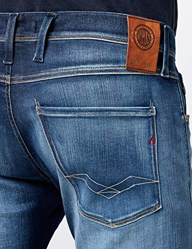 Slim Denim blue Anbass Blu Replay Uomo 7 Jeans TpEAP