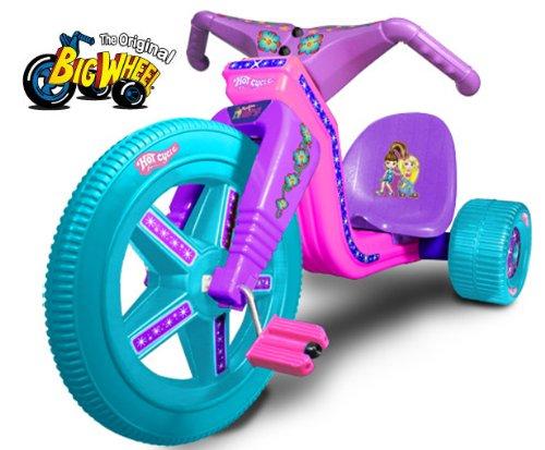 """The Original Big Wheel - Hot Cycle """"Fashion Girlz"""" 16"""" Trike Limited Edition w/ Decals -  J-Lloyd International"""