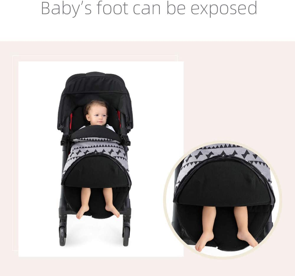 Baby Footmuff for Pushchairs Prams Buggys Joggers Strollers Toddler Cosytoes Winter Universal Waterproof Fabric with Fleece Lining Blue