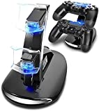 PS4 Controller Charger,VSEER Playstation 4/PS4/PS4 Pro/PS4 Slim Controller Charger Charging Docking Station Stand.Dual USB Fast Charging Station&LED Indicator for Sony PS4 Controller Review