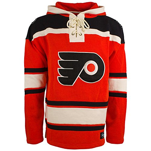 '47 Philadelphia Flyers NHL Heavyweight Jersey Lacer Hoodie - XX-Large
