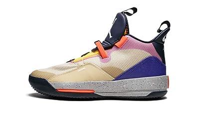 cheap for discount 4d8a9 ae7a5 Nike Air Jordan XXXIII Men s Basketball Shoes Limited Release Desert Ore  White Black AQ8830 200 (