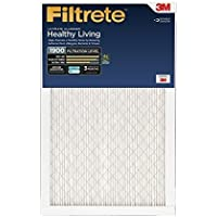 Filtrete Healthy Living Ultimate Allergen Reduction Filter, MPR 1900, 20 x 25 x 1-Inches, 6-Pack by Filtrete