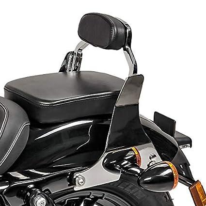 Sissy bar para Harley Davidson Sportster 883 Low 04-10 Respaldo Pasajero cromo