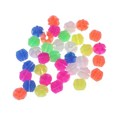 Bicycle Spoke Beads - Multi-Color - Easy Install - 72 Count : Sports & Outdoors