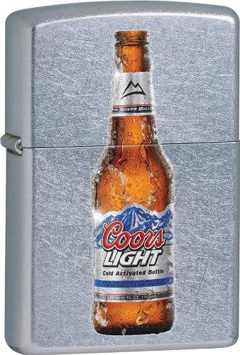 Zippo Street Chrome Coors Light Lighter ()