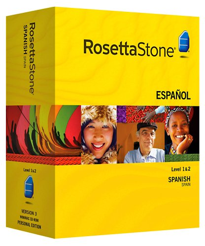 Rosetta Stone V3: Spanish (Spain) Level 1-2 Set with Audio Companion [OLD VERSION]