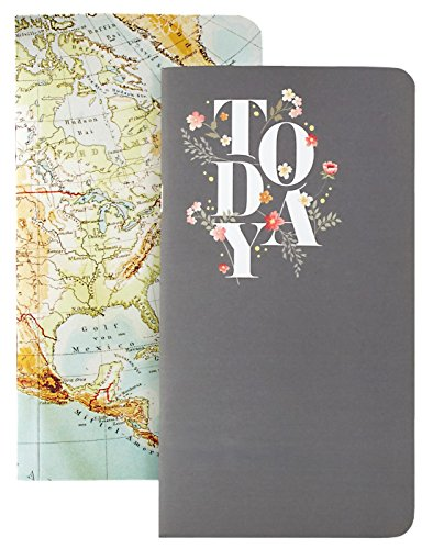 Webster's Pages Map and Today Travelers Planner Notepad Set V (NP105)