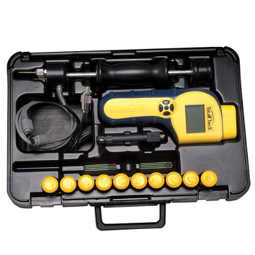 Delmhorst NEW! TotalCheck 3-in-1 Concrete Package w/26ES Hammer Electrode