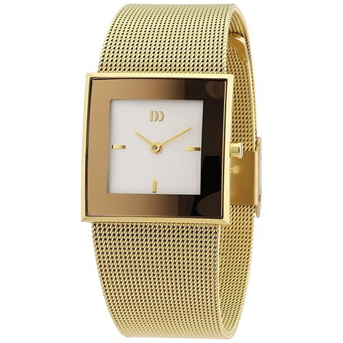 Danish Design Women's Gold Mesh Band Watch IV05Q973