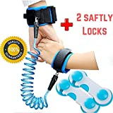 Child Leash Anti Lost Wrist Link Baby Safety Harness for Toddlers & Kids Harness Strap Rope Leash Walking Hand Belt (2m Blue)