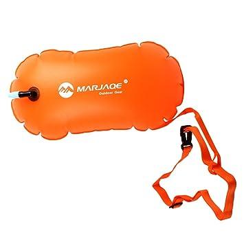 MagiDeal 1 Pieza de Alta Bolsa de Aire Inflable Visible Flotador de Remolque de Boya para Natación en Agua Abierta Color Naranja: Amazon.es: Deportes y aire ...
