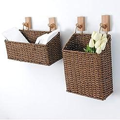 Wicker Wall Baskets