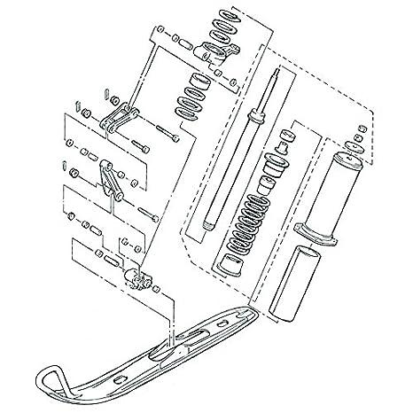 Amazon Com Kimpex Yamaha Front Suspension Hardware Kit Automotive
