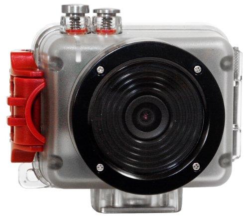 Intova Sport Pro HD Video Camera (Clear/Red) by Intova