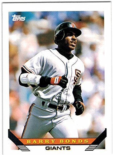 1993 Topps with Traded San Francisco Giants Team Set with Barry Bonds & Will Clark - 29 MLB Cards