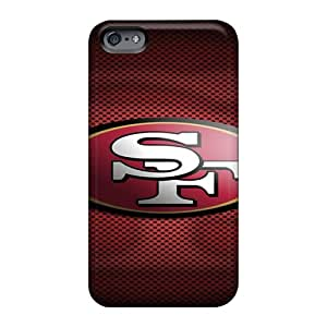 Protective Hard Cell-phone Cases For Apple Iphone 6s (aFj2046XgEO) Support Personal Customs Colorful San Francisco 49ers Pattern