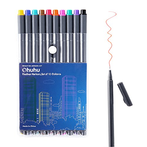 Ohuhu Fineliner Colored Marking Coloring