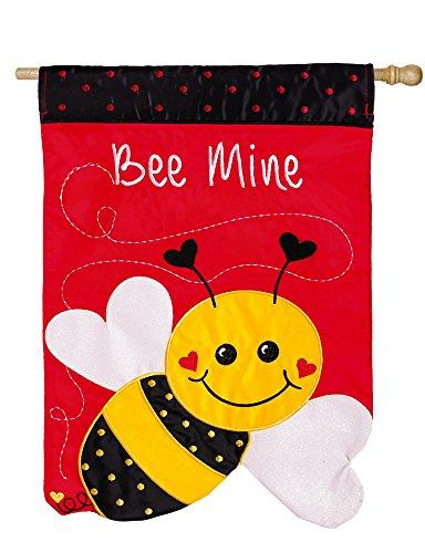 Evergreen Enterprises 158487BL Bee Mine Vertical Flag For Sale
