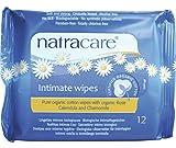 Natracare Feminine Intimate Wipes Organic 12 Count
