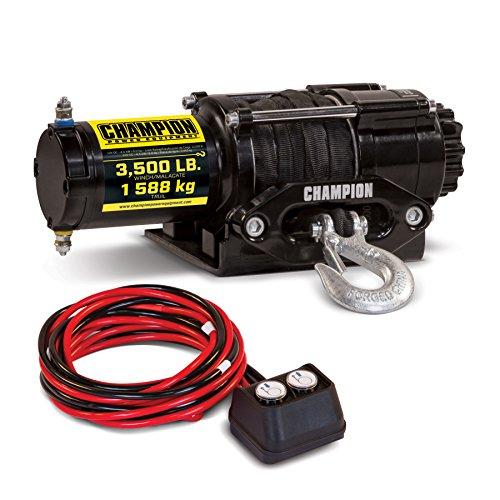 Champion 3500-lb. ATV/UTV Synthetic Rope Winch Kit -  Champion Power Equipment, 100428