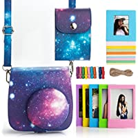 Tellster 4-in-1 Galaxy Pattern Fujifilm Instax Mini 8 Accessories