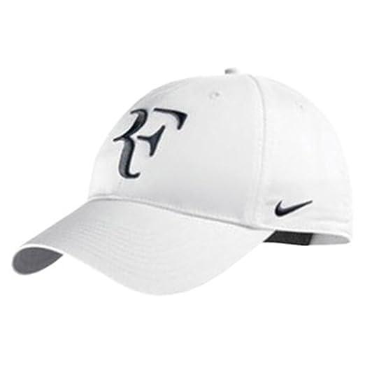 d9e37dbf Amazon.com : Nike RF Hybrid Cap (Adult Unisex) (White/Black, One Size) :  Baseball Caps : Sports & Outdoors