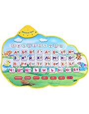 Baby Animal Music Pad Piano Playing Cartoon Music Crawling Pad Singing Carpet Baby Gift Early Education Learning Toys