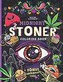 MIDNIGHT STONER Coloring Book + BONUS Bookmarks