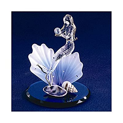 Mermaid Glass Figurine