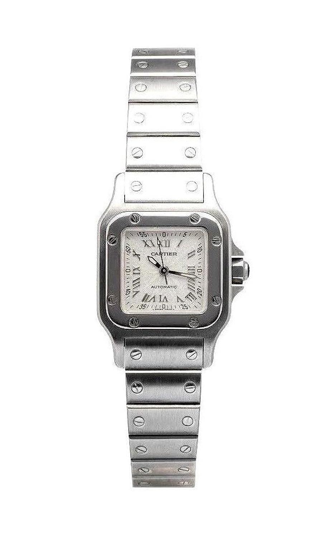 カルティエサントスautomatic-self-windレディース時計w20044d6 (認定pre-owned ) B01N1IBSSR
